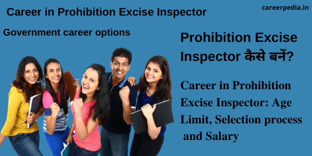Career in Prohibition Excise Inspector