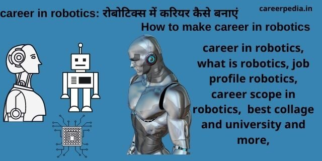 career in robotics